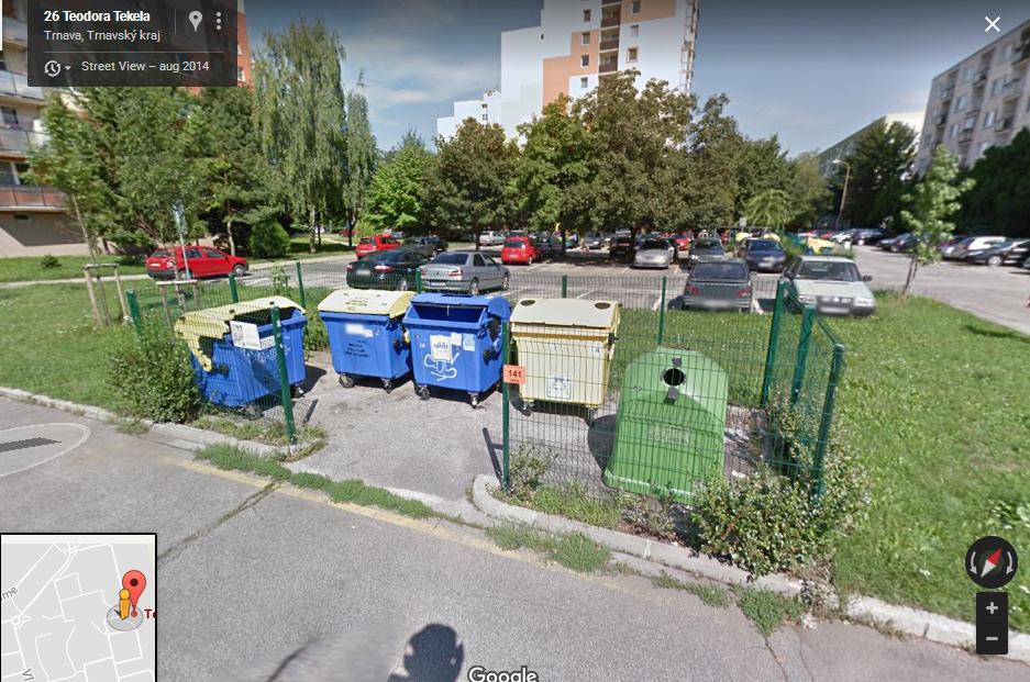 6a846c26d Oficiálne parkovacie miesta pre bicykle/motocykle, Východ, Trnava ...