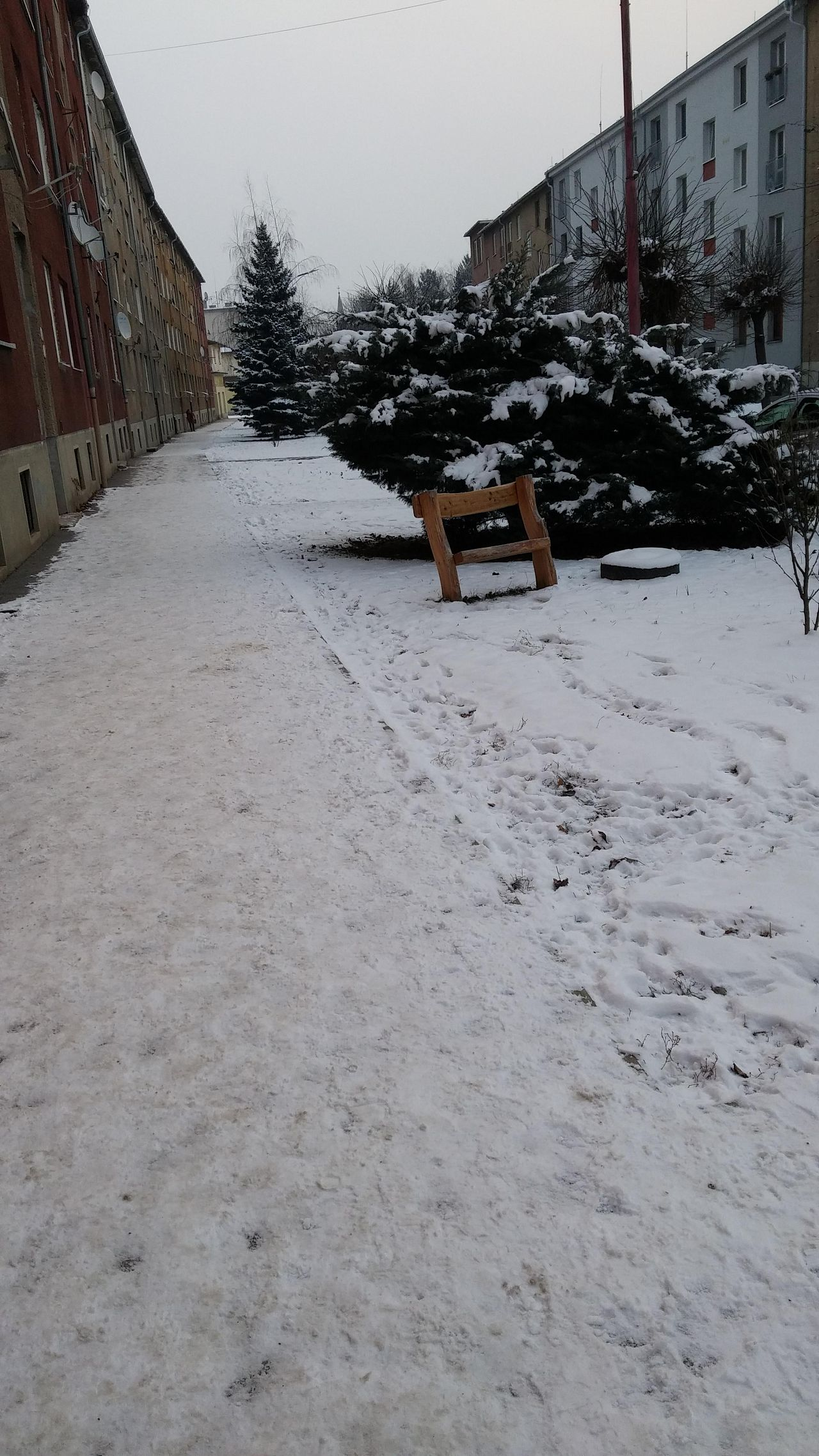 Gorazdova Chodnk Neodhrnut Mesto